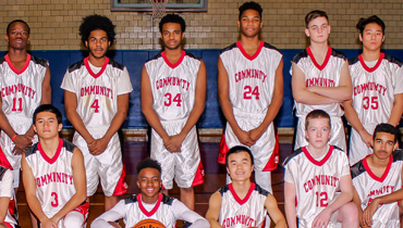 Community School Basketball Team 2018