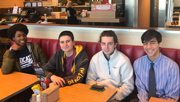 Lodi Smashburger trip by NJ Students interested in careers